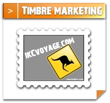 timbre pour invitation marketing